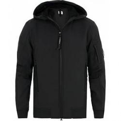 C.P. Company Soft Stretch Shell Jacket Black