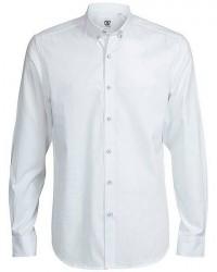 CR7 Cristiano Ronaldo CR7 Skjorte Slim fit 100% bomuld i Hvid 8677 728 01