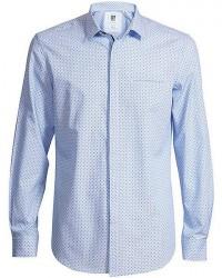 CR7 Cristiano Ronaldo CR7 Skjorte Slim fit Blå med blå prikker 8640 72 315