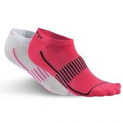 craft 2-pak Cool Seamless Sock - White/Pink * Kampagne *