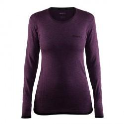 craft Active Comfort RN LS Women - Deep purple * Kampagne *