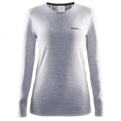craft Active Comfort RN LS Women - Light grey * Kampagne *