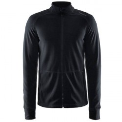 craft Full Zip Micro Fleece Jacket Men - Black * Kampagne *