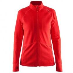 craft Full Zip Micro Fleece Jacket Women - Red * Kampagne *