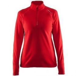 craft Half Zip Micro Fleece Women - Red * Kampagne *