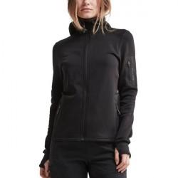 craft Trict Polartec Hood Women - Black * Kampagne *