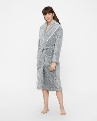 Cream Bella housecoat
