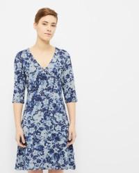 Cream 'Jessica' kjole