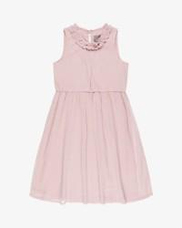 Creamie Chiffon kjole