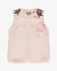 Creamie Faux Fur vest
