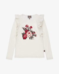 Creamie Flare langærmet T-shirt