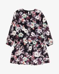 Creamie Flower kjole