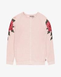 Creamie Flowerpatch cardigan