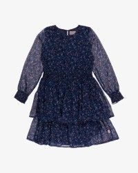 Creamie Small Flower kjole