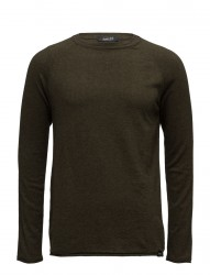 Crewneck Pullover In MéLange Cashmere-Blend Quality