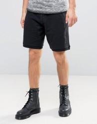 Criminal Damage Baller Shorts - Black
