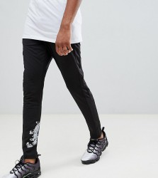 Criminal Damage Joggers In Black Baroque Print Exclusive To ASOS - Black