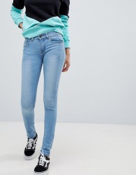 Criminal Damage Skinny Jeans - Blue
