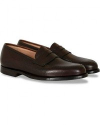 Crockett & Jones Boston City Sole Dark Brown Calf men UK11 - EU45,5 Brun