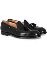 Crockett & Jones Cavendish 2 Tassel Loafer Black Calf men UK8 - EU42 Sort