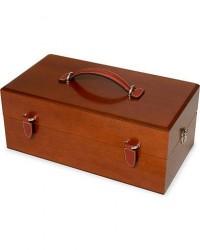 Crockett & Jones Luxury Shoe Polish Box Wood men One size Brun
