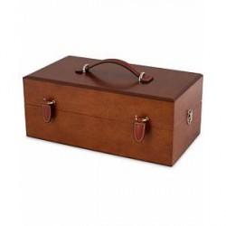 Crockett & Jones Luxury Shoe Polish Box Wood