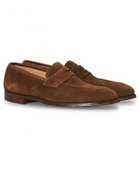 Crockett & Jones Sydney Loafer Snuff Suede men UK10,5 - EU45 Brun
