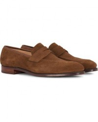 Crockett & Jones Sydney Loafer Snuff Suede men UK9,5 - EU44 Brun