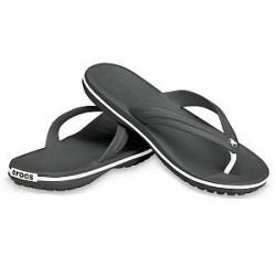 Crocs Crocband Flip Unisex - Black - US M6/W8 (EU 38-39)