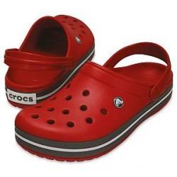 Crocs Crocband Unisex - Red/Grey - US M4 (EU 36-37)