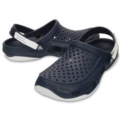 Crocs Swiftwater Deck Clog M - White/Navy * Kampagne *