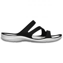 Crocs Swiftwater Sandal W - Black/White * Kampagne *