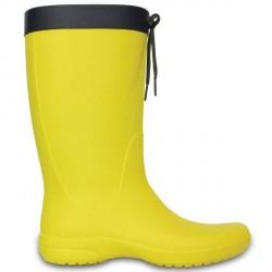 Crocs Women Freesail Rain Boot - Yellow * Kampagne *