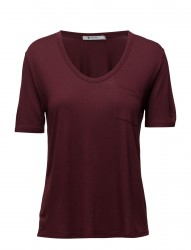 Cropped Tee Withchest Pocket
