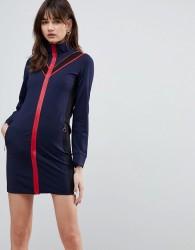 Cubic Hillary Sporty Bodycon Dress - Navy