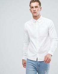 D-Struct Oxford Long Sleeve Shirt - White
