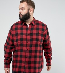 D-Struct PLUS Buffalo Check Shirt - Red
