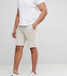 D-Struct PLUS Turn Up Chino Shorts - Stone