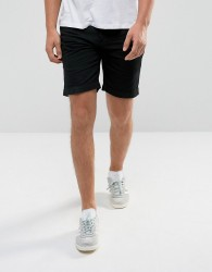 D-Struct Pull On Drawstring Canvas Shorts - Navy