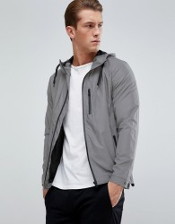 D-Struct Reflective Hooded Jacket - Silver