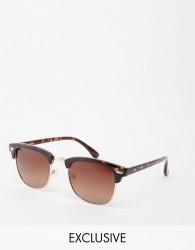 D-Struct Retro Sunglasses - Brown