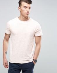 D-Struct Slub Jersey Nepp T-Shirt - Pink