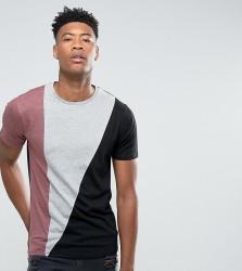 D-Struct TALL Cut and Sew T-Shirt - Grey