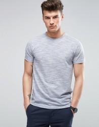 D-Struct Textured Slub T-Shirt - Blue