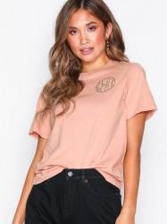 Dagmar Rachel logo t-shirt T-shirt Pink