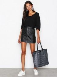 Dagmar Shopping Bag Håndtaske Sort