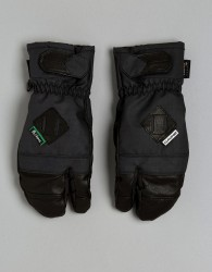 Dakine Leather Fillmore Trigger Ski Mitt - Black