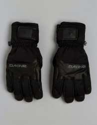 Dakine Leather Ski Gloves with Gore-Tex - Black