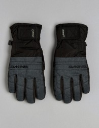 Dakine Leather Ski Gloves with Gore-Tex - Grey