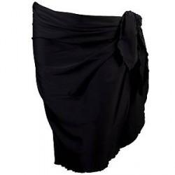 Damella 30025 Sarong - Black - One Size